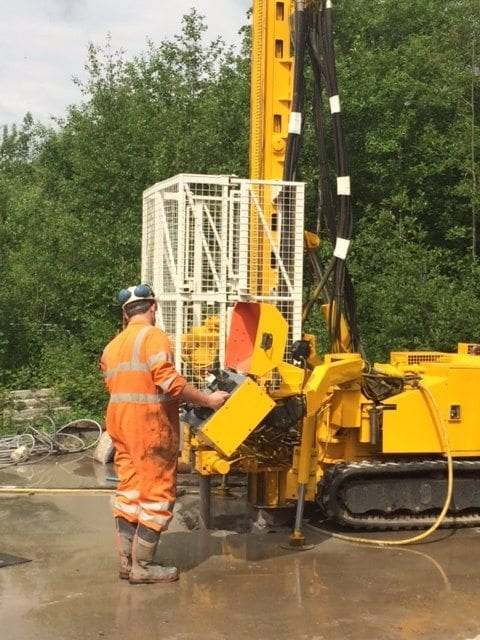 UK geotechnical drilling