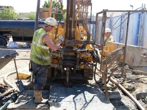 Cable Percussive Drilling
